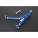 NISSAN SILVIA 240SX S13 '89-94 Predné nastaviteľné spodné rameno + tyčka stabilizátora,V2  ( PILLOW BALL)