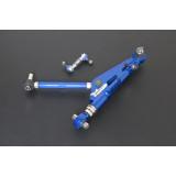 NISSAN SILVIA 240SX S13 '89-94 Predné nastaviteľné spodné rameno + tyčka stabilizátora, +25mm rozšírenie V2  ( PILLOW BALL)