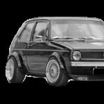 VW Golf 1, Jetta (97-83)