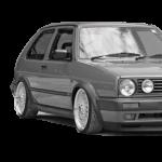 VW Golf 2, Jetta (83-92)